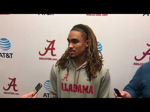 Jalen Hurts talks Iron Bowl, playing Auburn