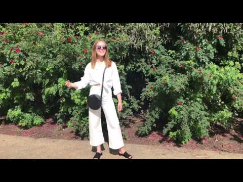 How I Style Wide Leg Trousers