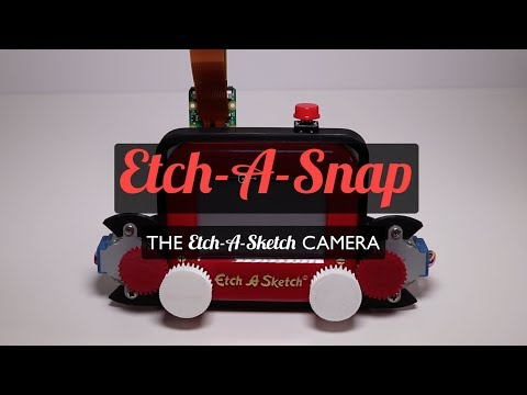 Photo In, Sketch Out: Etch-A-Snap