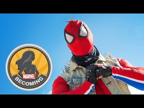 Cosplay Mike Prost becomes Punk Spider-Man