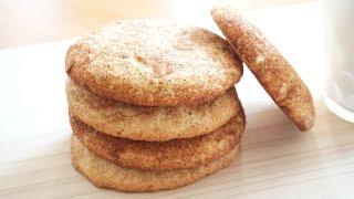 How to make Snickerdoodle Cookie 스니커두들 쿠키만들기   SweetHailey
