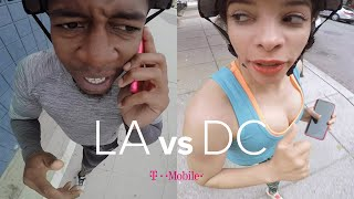 The GPS Drawing Challenge: LA vs DC // Presented By BuzzFeed & T-Mobile