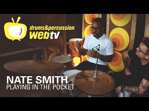 Nate Smith Trailer: Playing in the pocket @ Drumtrainer.Online