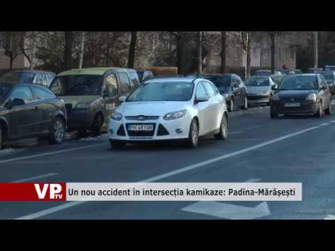 Un nou accident în intersecția kamikaze: Padina-Mărășești