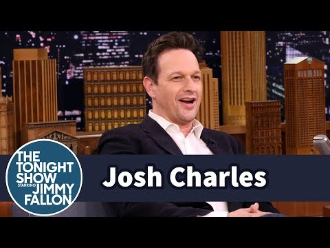 Josh Charles Teleports from The Tonight Show Using His Magic Zipper