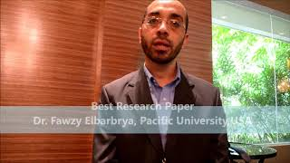 Dr. Fawzy Elbarbrya at PHARMA Conference 2013 by GSTF
