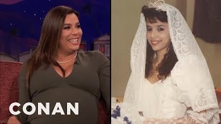 Eva Longoria Worked At Wendy's Illegally To Pay For Her Quinceañera  - CONAN on TBS - Video Youtube
