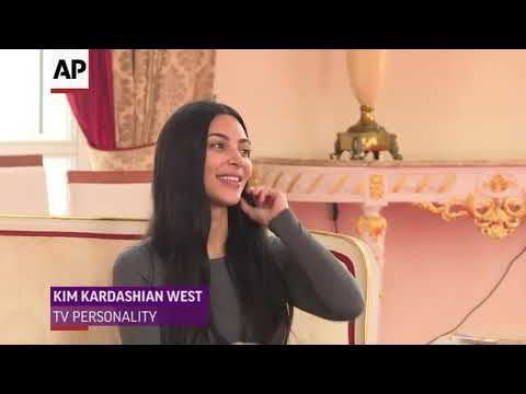 Kanye West and Kim Kardashian West met with Uganda's president during a visit to the East African nation, giving 74-year-old Yoweri Musaveni a pair of white sneakers. They talked about children, the economy and tourism. (Oct. 15)