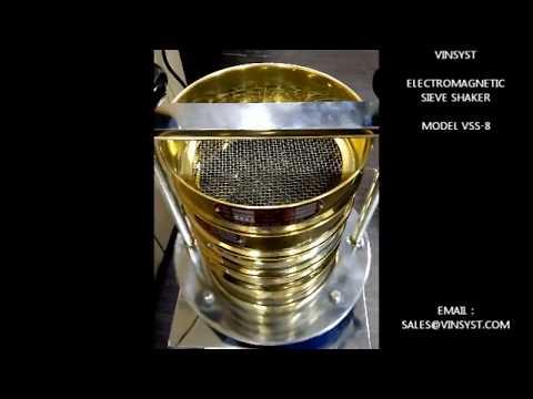 Vinsyst Electromagnetic Sieve Shaker for Wet