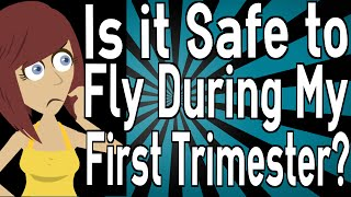 Is it Safe to Fly During My First Trimester?