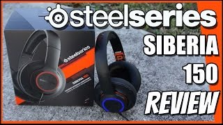 SteelSeries Siberia 150 Headset REVIEW!
