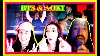 steve aoki bts waste it on me reaction - TH-Clip