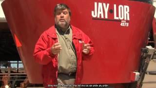 Máy trộn thức ăn chăn nuôi gia súc Jaylor - TMT: Tăng lợi nhuận nuôi bò-bò con với TMR