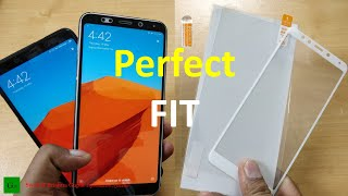 [Hindi] Best Tempered Glass and Screen Protector for Redmi 5, Note 5, Note 5 Pro, Mi A2