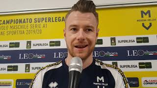 Modena Volley, Ivan Zaytsev in vista del match contro Monza
