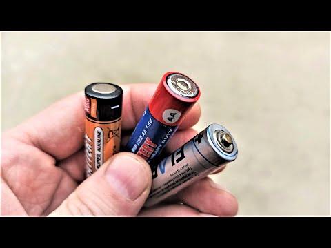 Не выбрасывайте старые батарейки! Многие об этом еще не знают!