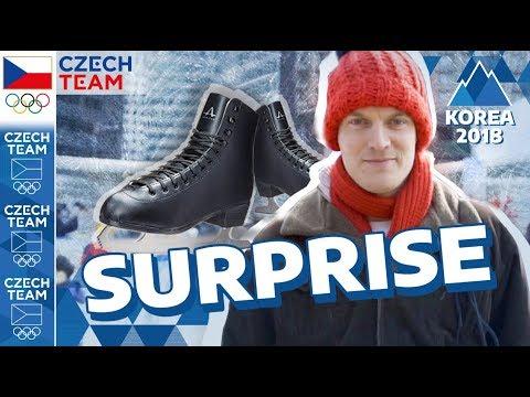 OLYMPIC SURPRISE | Figure skating ⭐ STAR ⭐ shocked Seoul | #CZECHTEAM