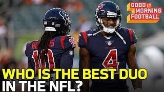 Who is the NFL's Best QB/ Skill Position Duo? | NFL Network