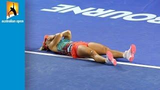 Top 5 Tear Jerker Moments | Australian Open 2016