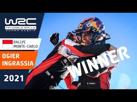 セバスチャン・オジェが優勝!WRC 2021 開幕戦のラリーモンテカルロで優勝したセバスチャン・オジェのダイジェスト動画