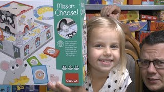Mission Cheese! (Goula / Jumbo) - Kinderspiel in 3D ab 4 Jahre