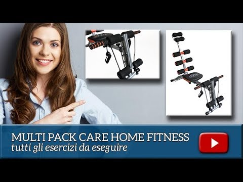 MULTI PACK CARE ROCKET TRAINER, LA PALESTRA IN CASA