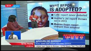 What PAC report means for Anne Waiguru