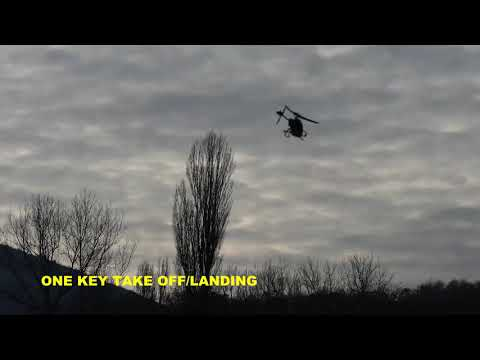 OUTDOOR TEST FLIGHT EACHINE E130 RC HELICOPTER