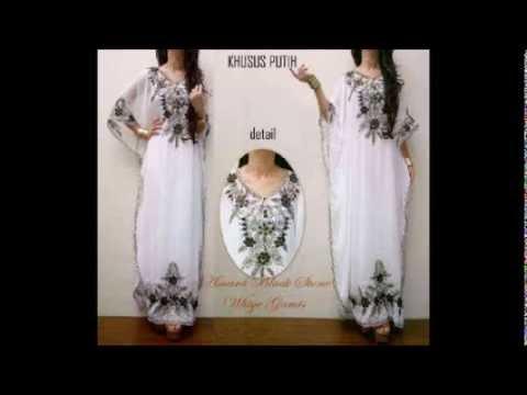 Video Baju Kaftan Dress Online Terbaru  Murah