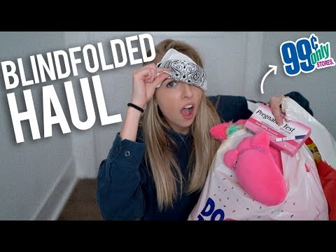 BLINDFOLDED 99 CENT STORE HAUL