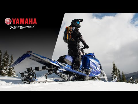 2021 Yamaha Mountain Max LE 165 in Trego, Wisconsin - Video 1