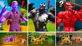 ALL NEW Bosses, Mythic Weapons & Keycard Vault Locations (Boss Midas, Boss Venom, Boss Carnage,Cube)