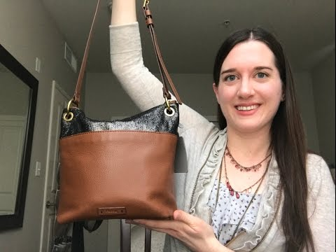 What's In My Purse: Fossil Keely Bucket Crossbody