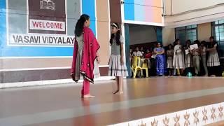 """Water is Precious""  Mime by 6B students of Vasavi Vidyalaya-Palakkad - CBSE-Trivandrum Region"