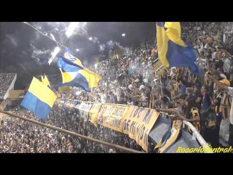 """""""""""Recibimiento"""" - Rosario Central (Los Guerreros) vs Colon"""" Barra: Los Guerreros • Club: Rosario Central"""