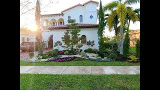 Amazing Front Yard Landscape Design In South Florida