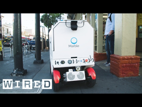 The Robot That's Roaming San Francisco's Streets to Deliver Food | WIRED