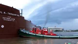 Paul R. Tregurtha Aground in Duluth, Sept. 20, 2014