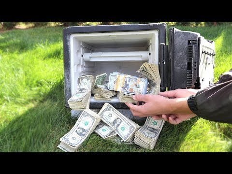 I FOUND AN ABANDONED SAFE FILLED WITH MONEY $100,000!   David Vlas