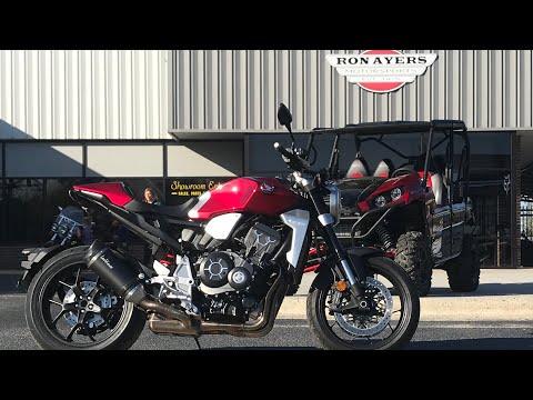 2019 Honda CB1000R ABS in Greenville, North Carolina - Video 1