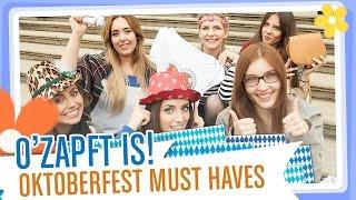 O' zapft is - Oktoberfest Tipps & Must Haves