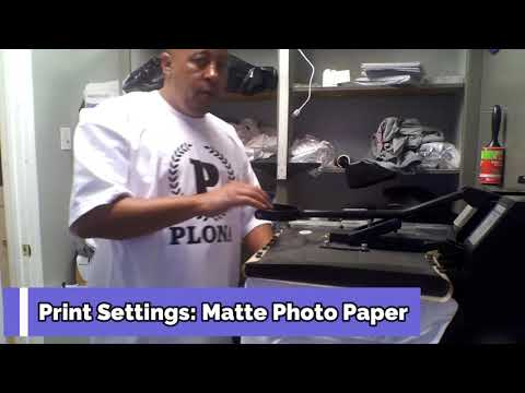 HOW TO PUT PICTURES ON T-SHIRTS **Using the best Heat Transfer Paper**