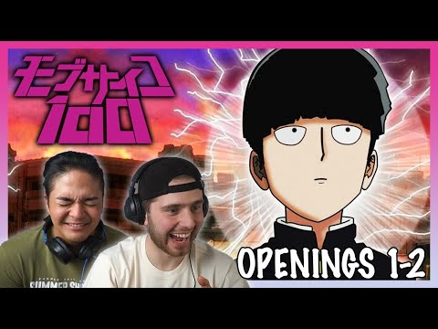 MOB PSYCHO 100 Opening 1-2 REACTION!    Anime OP Reaction