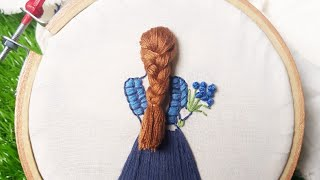 3D Hand Embroidery Design