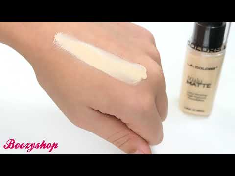 LA Colors LA Colors Truly Matte Foundation Porcelain