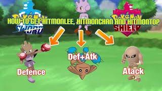 Hitmonlee  - (Pokémon) - Pokémon Sword And Shield- HOW TO GET Tyrogue And Evolve It Into Hitmonlee, Hitmonchan And Hitmontop