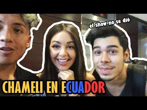 CAELI EN ECUADOR *estafan a youtubers* La Divaza, Nicolás Arrieta, TonnyBoom | Smith Benavides