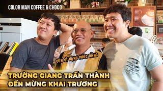 Đến Color Man Coffee&Choco nếu bối rối cứ chọn món của Trường Giang Trấn Thành là ngon nhanh nhất