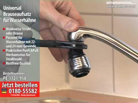 Universal Brauseaufsatz für Wasserhähne