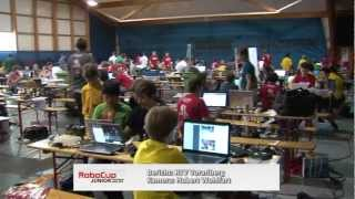 preview picture of video '30.04. - Robocup Junior 2012 - Hohenems/Vorarlberg'